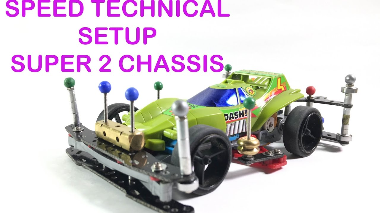Tamiya Mini 4wd Technical Speed Setup Super 2 Chassis