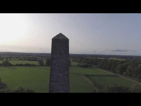 Ancient Irish Monument by Drone 4K    |    O N E  - Y E A R - ON