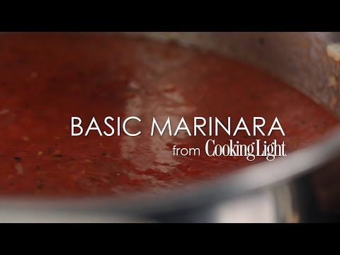 How to Make Basic Marinara | MyRecipes