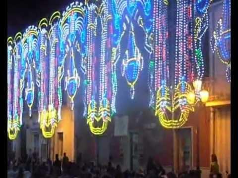 Festa San Sisto  Alife 2012 (Spalliera led Migliorelux di Migliore Nunzio)