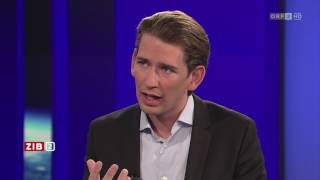 Sebastian Kurz verteidigt Australien-Vorschlag