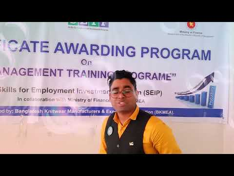 BKMEA Certificate Awarding Program, 2018