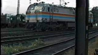 AMTRAK .GG1's.1980 @ New Haven,Ct