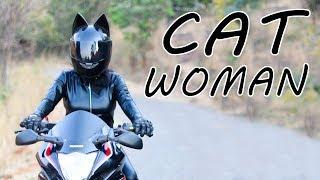 Catwoman Biker - Bike My Soul