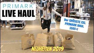 Morgens ALLEINE bei PRIMARK SHOPPEN 😱 l 1500€ XXL Primark LIVE Haul 🤑