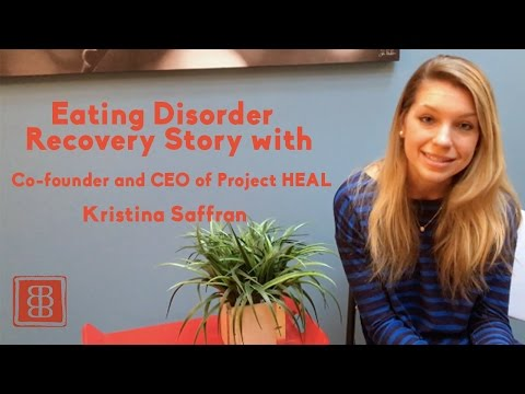 Eating Disorder Recovery Story: Kristina Saffran