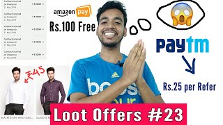 Full Shirt Only ₹45, Per refer ₹25 Paytm, Amazon Pay Loot, Giveaway Result - Loot Offers #23