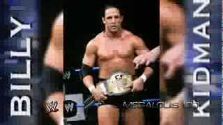 Billy Kidman 5th and Last WWE Theme Song -