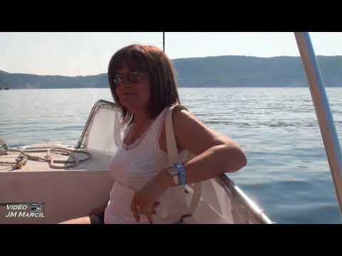 Petite promenade en bateau a Paleokastritsa sur l'île de Corfou  2017