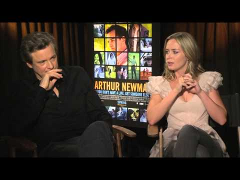 Colin Firth and Emily Blunt - Arthur Newman - Interview