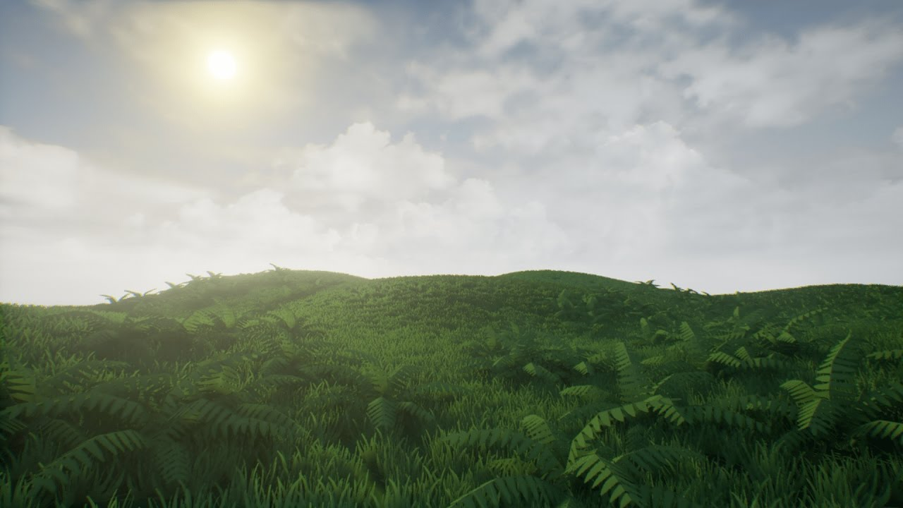 UE4 Olbert's Low Poly: Grass And Groundplants