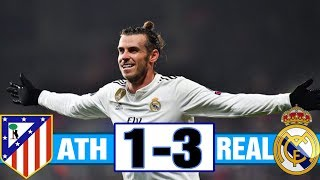 Real Madrid Vs Atletico Madrid 3-1 All goals and Highlights 2019