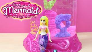 Sirenita Acuario marino mágico | Juguetes de agua | Water Wonderland My Magical Mermaid en español