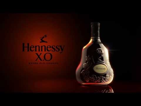 Packshot et animation - Hennessy XO - Origine