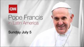 """CNN International """"Special Coverage: Pope Francis"""" promo"""