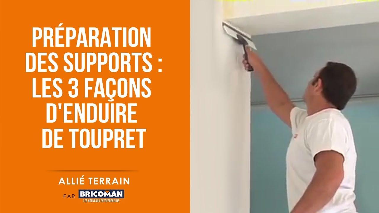 Allie Terrain Peinture Preparation Des Supports Les 3 Facons D Enduire De Toupret Youtube