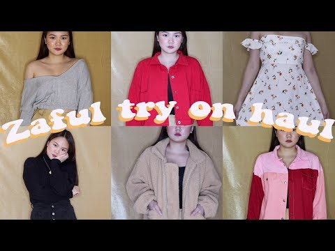 HUGE ZAFUL CLOTHING TRY-ON + GIVEAWAY!! | ASHLEY SANDRINE