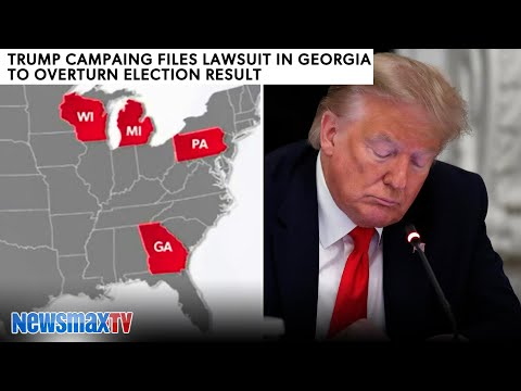 BREAKING: Trump campaign files overturn lawsuit in Georgia | REPORT