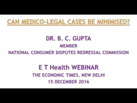 ETHealthworld Webinar : Can medico-legal cases in India be minimised?