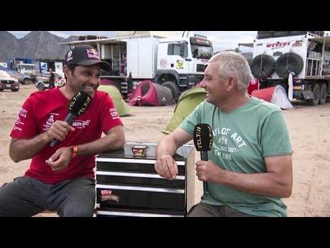 DAKAR TALK met Nasser Al-Attiyah!  - RTL GP