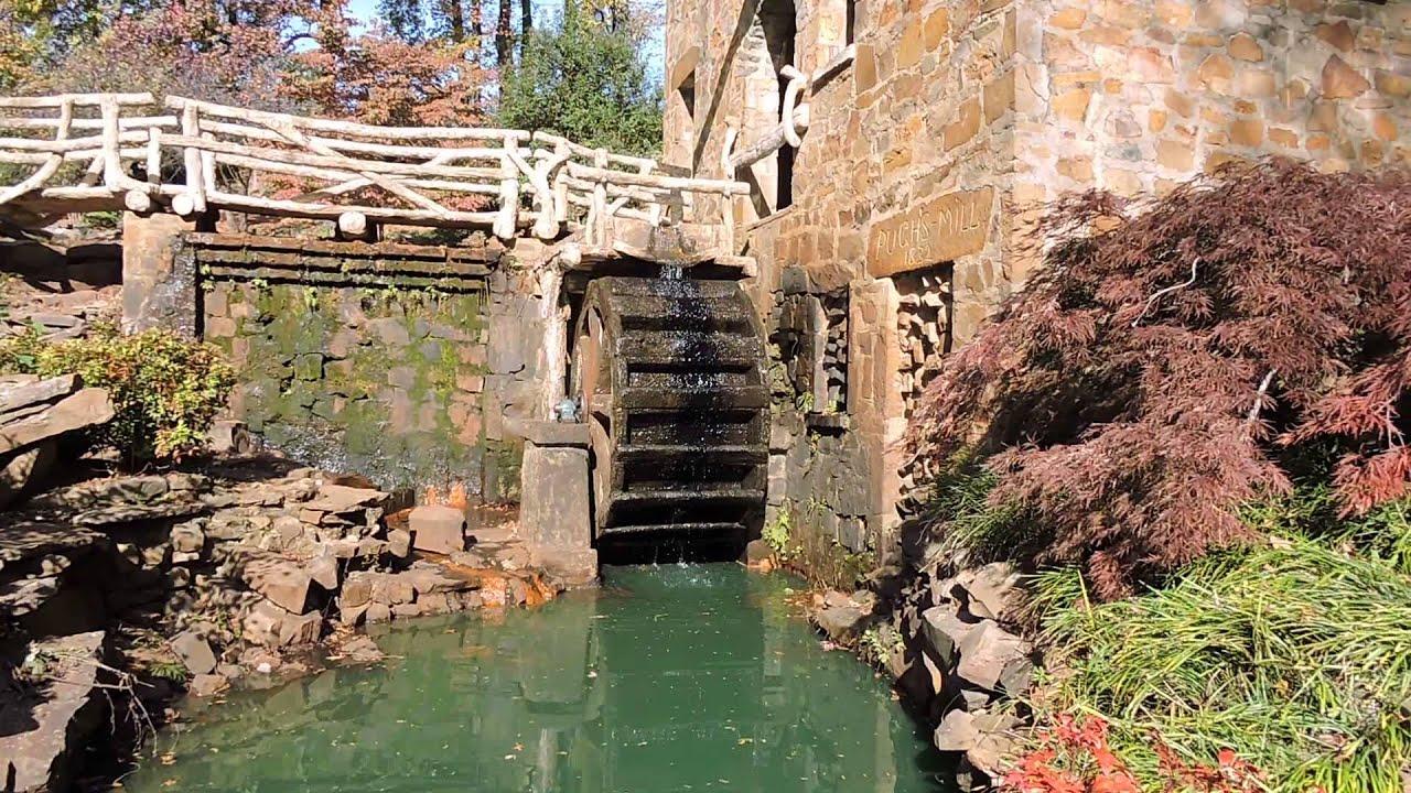 Waterwheel at the old mill north little rock arkansas youtube