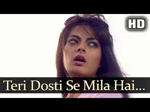 Teri Dosti Se Mila (HD) - Pyaar Ka Saaya Songs - Rahul Roy - Sheeba - Kumar Sanu - Asha Bhosle