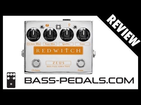 Red Witch ZEUS Bass Fuzz Suboctave REVIEW