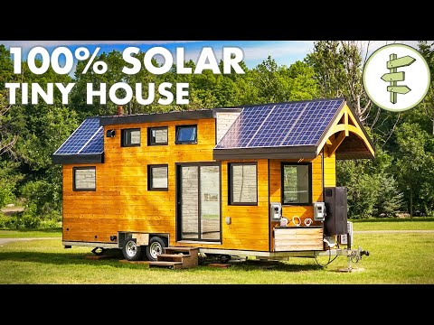 Super High Tech Off-Grid Tiny House for Sustainable Living |