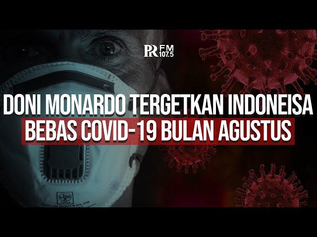 Tak Main-main, Doni Monardo Targetkan Indonesia Bebas Covid-19 pada 17 Agustus 2021