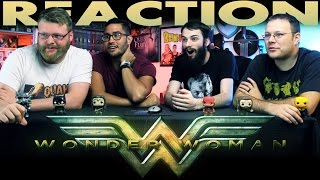 Wonder Woman Comic-Con Trailer Reaction!!