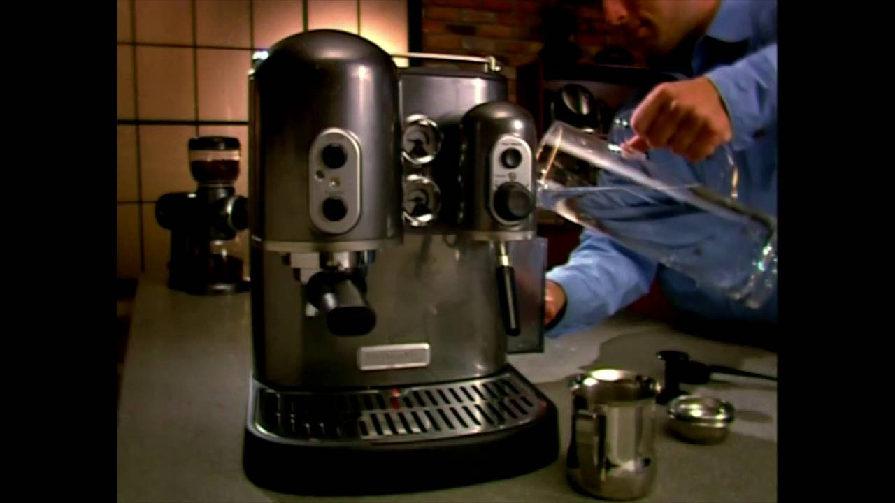 Schon KitchenAid Proline Series Espresso Machine Tutorial