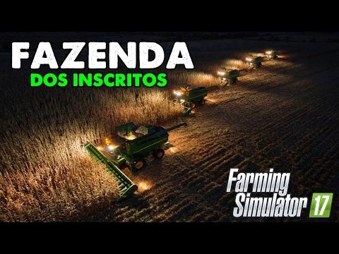 Farming Simulator 2017 - A Fazenda dos Inscritos | LIVE (720p)