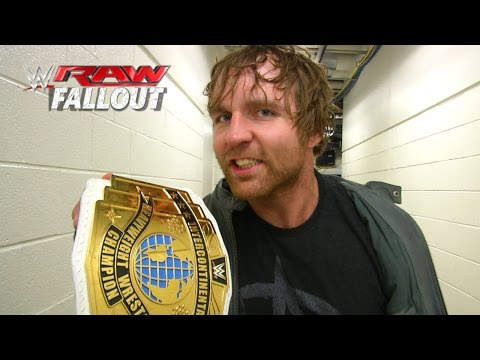 Dean Ambrose makes it simple: Raw Fallout, February 23, 2015