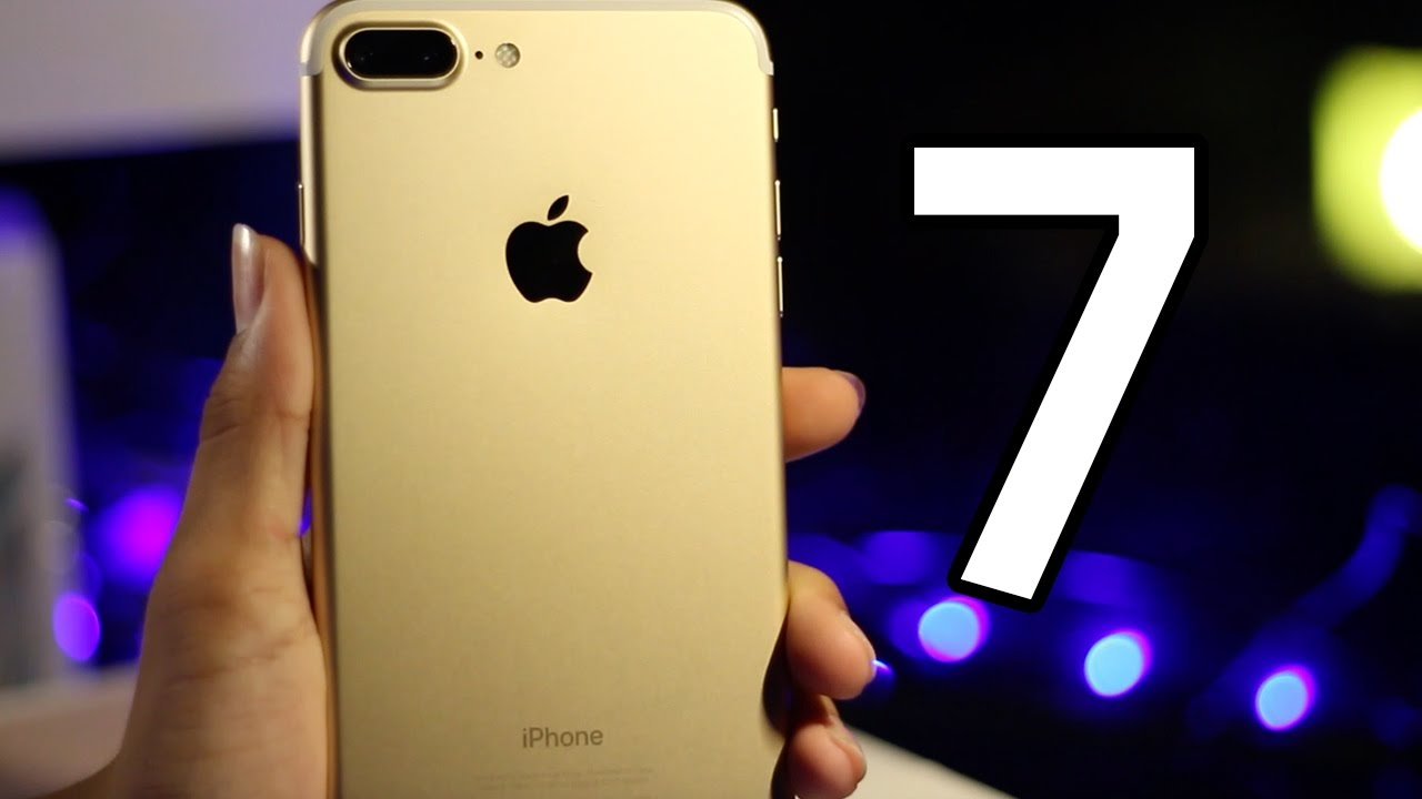 Iphone 7 Plus Gold 128gb Unboxing Hd Malaysia Youtube