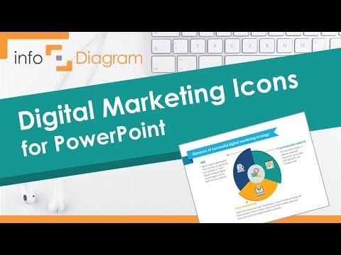 Digital Marketing PowerPoint Presentation - Template Icons