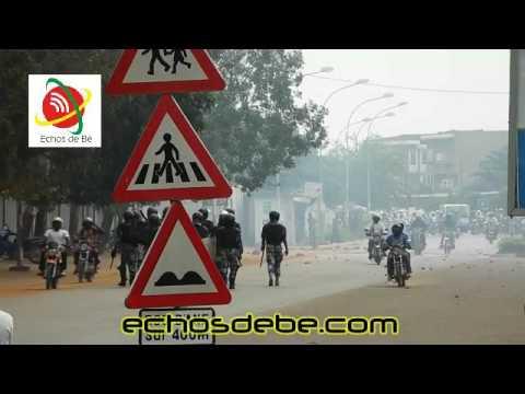 Echos de Bè: Le campus de Lomé envahi par les foces de l'ordres accompagné des jets de gaz
