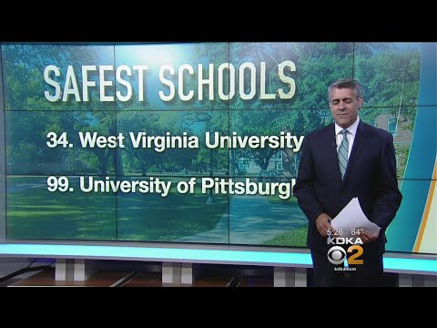 Study Places Pitt, WVU Among Safest Colleges In U.S.