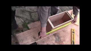 How to make a Nuclei Bee Hive or Mating Hive from scratch
