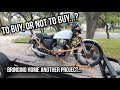 What I Look For When Buying A Motorcycle Project.