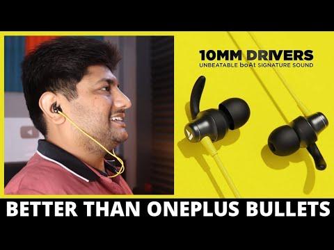 boAt Rockerz 335 Wireless Neckband Unboxing & Review   better than OnePlus Bullets Wireless Z