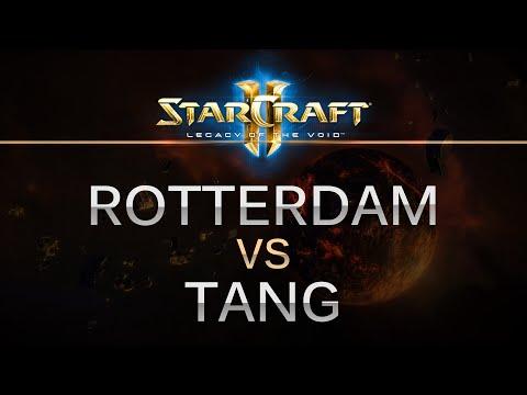 StarCraft 2 -- LOTV -- RotterdaM (P) v Tang (Z) on Orbital Shipyard