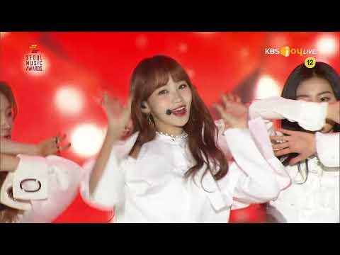 19.01.15 KBS Joy The 28th Seoul Music Awards IZONE LA VIE EN ROSE 1080i Miyawaki Sakura