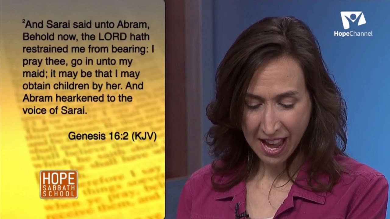 Hope Sabbath School Lesson 11 Families of Faith