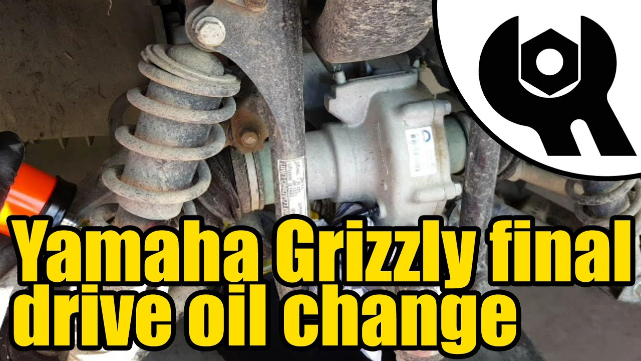 Yamaha Grizzly 450 >> Yamaha Grizzly 450 - Tuff Torq final drive oil change #1809 - YouTube