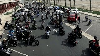 I CRASHED AT THE BIGGEST MOTORCYCLE MEET!