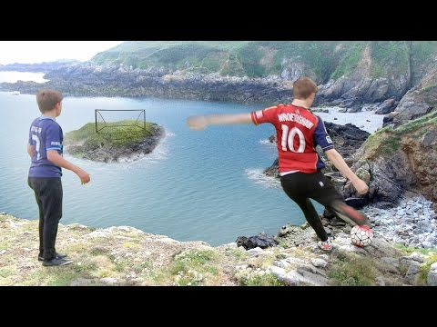 Thumbnail: CLIFF TOP FOOTBALL CHALLENGES