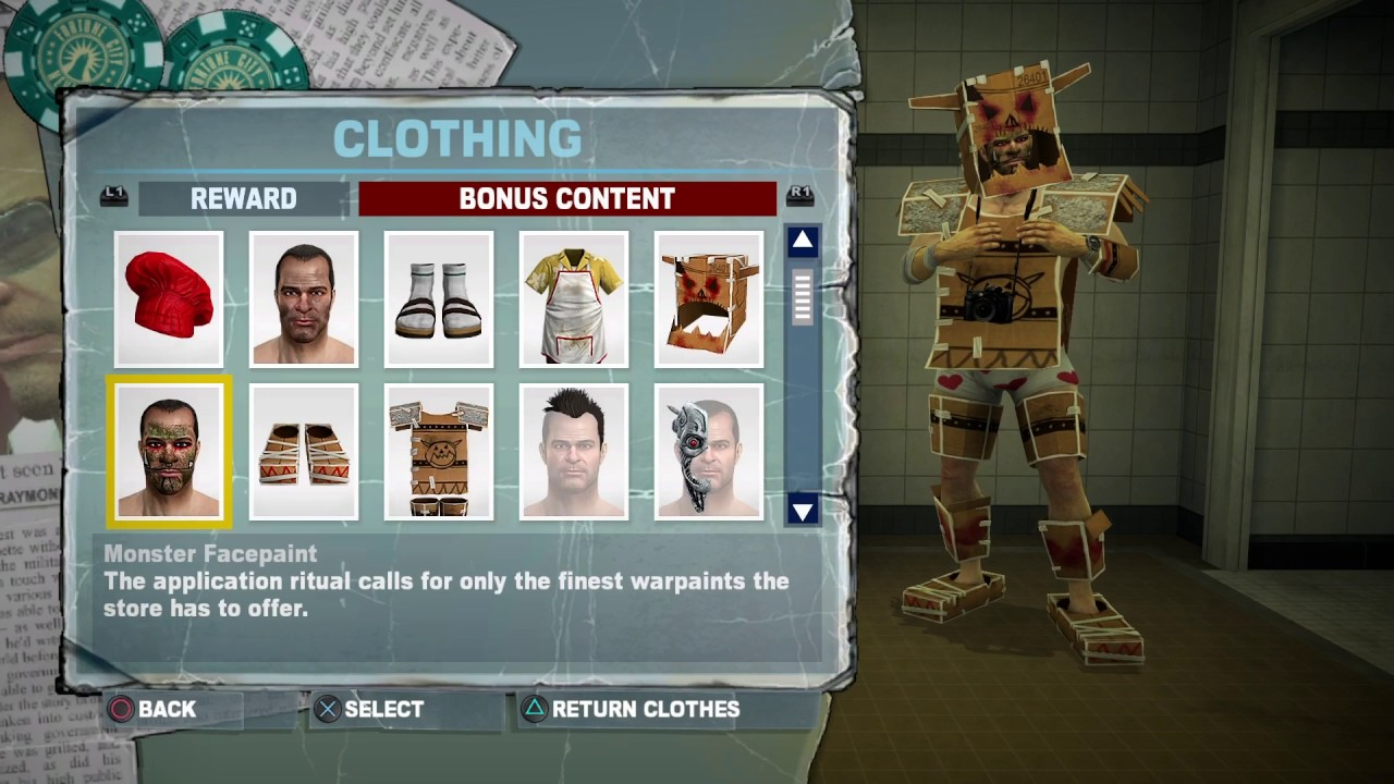Dead Rising 2 Off The Record All Dlc Outfits Youtube