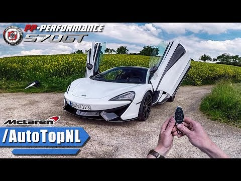 720HP McLaren 570 GT REVIEW POV Test Drive PP Performance by AutoTopNL