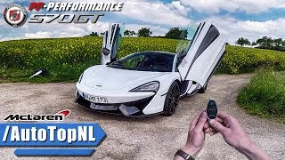 720HP McLaren 570 GT REVIEW POV Test Drive PP Performance by AutoTopNL