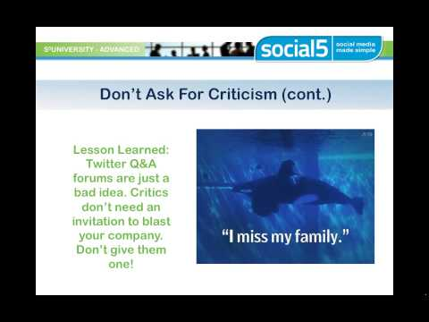 Social Faux Pas  Lessons Learned From Social Media Blunders